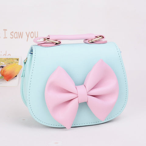 Best selling fashion bow Messenger bag for girls
