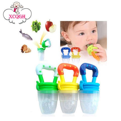 Baby Pacifier and Fresh Food Feeder in 1