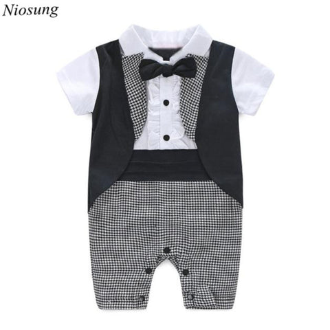 Baby Boy Formal Party Short Sleeve