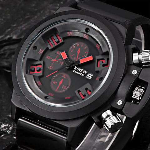 Bestselling FHD Mens Fashion Silica Sports Watch