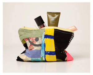 Patchwork Fabric Remnant Purses