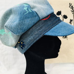 Tattymoo x Readorn Denim Baker Boy Hat