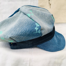 Load image into Gallery viewer, Tattymoo x Readorn Denim Baker Boy Hat