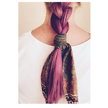 Load image into Gallery viewer, Mixed Fabric Remnant Hair/Neck Scarf