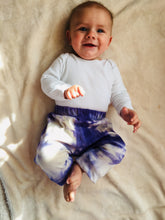 Load image into Gallery viewer, Gender Neutral Kids / Baby / Toddler Shibori Indigo Dyed Harems