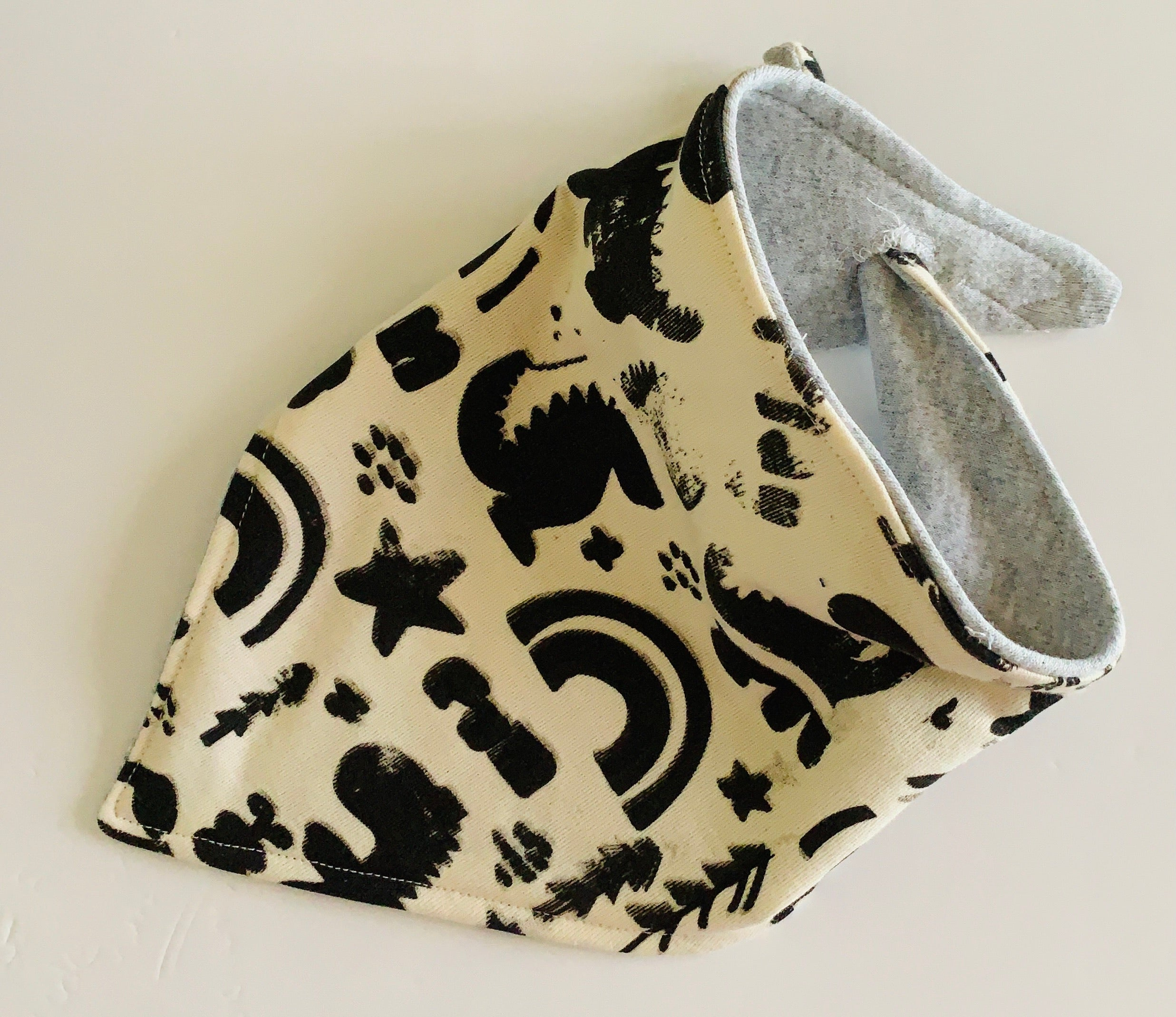 Printed Doodles Baby and Toddler Dribble Bibs