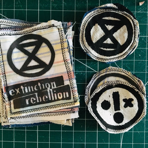 EXTINCTION REBELLION patches
