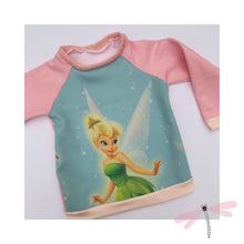 Load image into Gallery viewer, Upcycled Kids Disney Raglan Tops