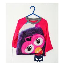 Load image into Gallery viewer, Upcycled Kids Handmade Raglan Top