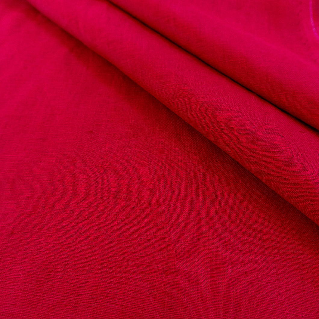 Bright Red Linen