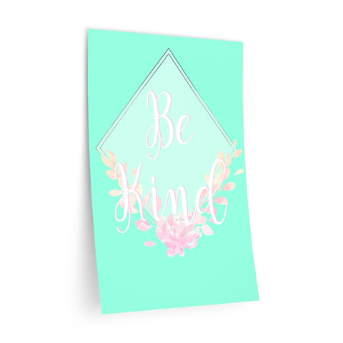 Pastel Be Kind Wall Decal