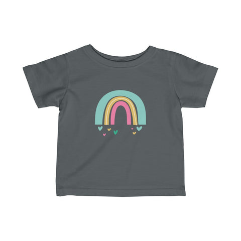 Personalized After the Rain <3 Infant Fine Jersey Tee