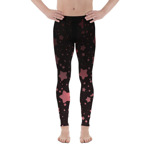 Black and Rose Gold Front Gusset Leggings