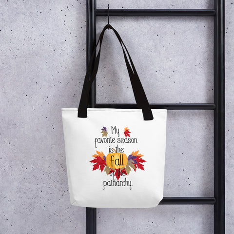FALL of the Patriarchy Tote bag