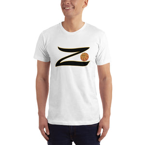 Z With Basketball Short-Sleeve Unisex Jersey T-Shirt