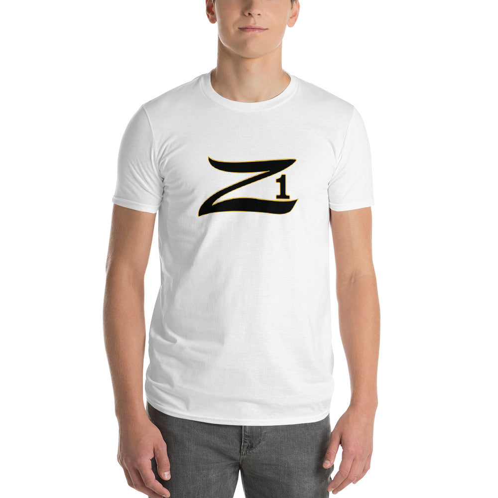 Z With number one Short-Sleeve Unisex T-Shirt