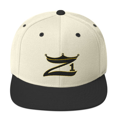 3D Puff Snapback Hat Z1 with Crown