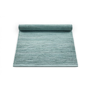 Gulvtæppe - cotton rug - Dusty Jade