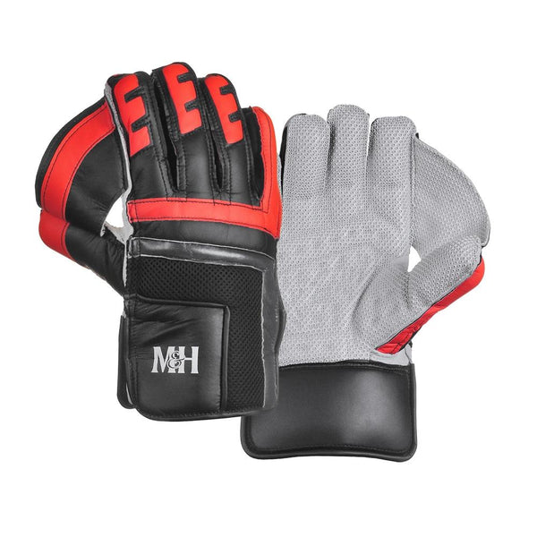 PRO Black Wicket Keeping Gloves Outlet Millichamp and Hall