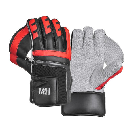 PRO Black Wicket Keeping Gloves