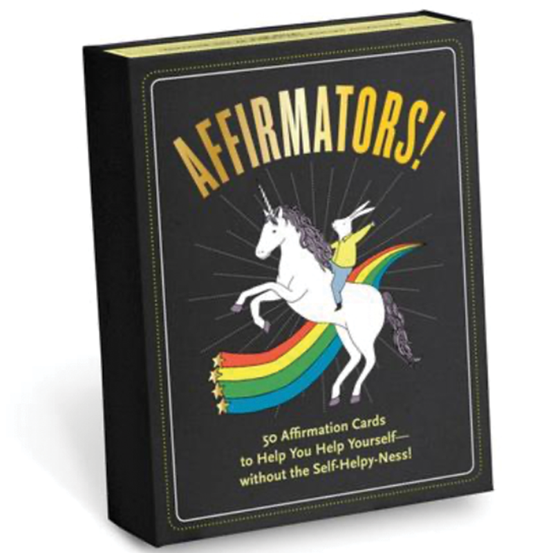 Affirmators!® 50 Affirmation Cards Deck