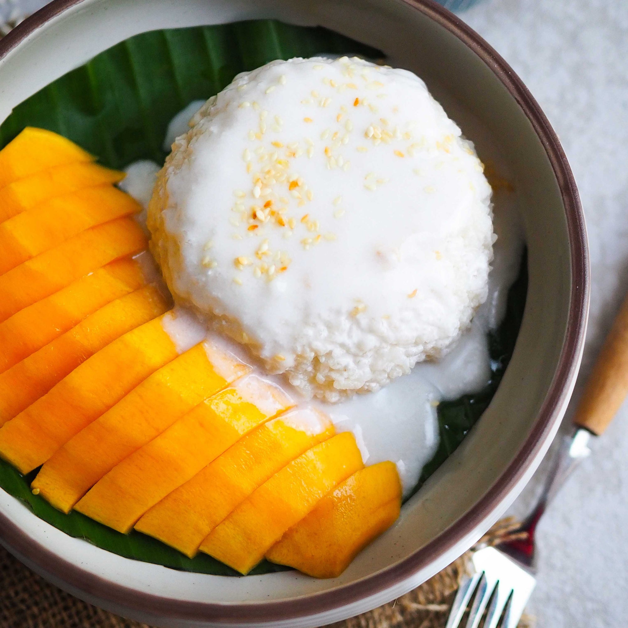 Mango Sticky Rice - Classic Thai Snack