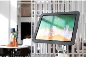 VESA mount for iPad check-in