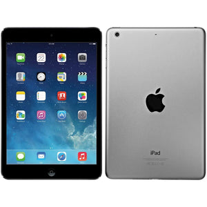 Front and back of an Apple brand iPad Air tablet computer