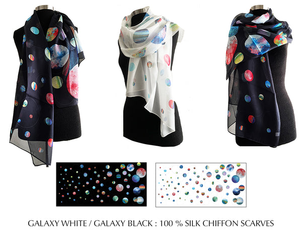 New in 2021 - 100% Silk Scarves - Creo Wear Couture