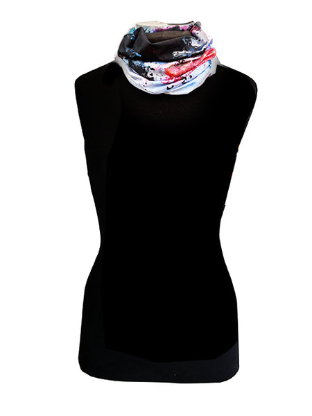 Around the World Neck Warmer - Creo Wear Couture