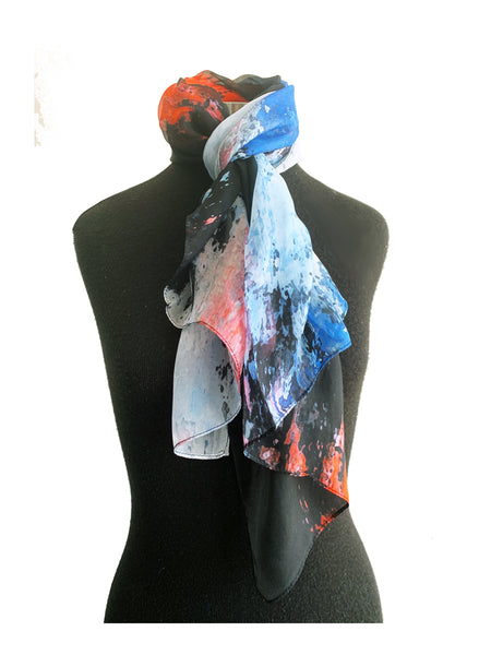 100% Designer Silk Scarves - Creo Wear Couture