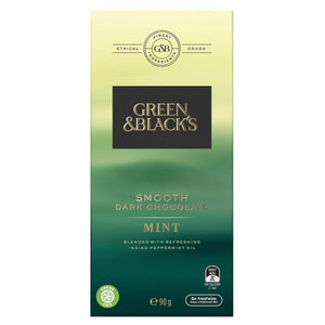 Green & Black's Smooth Dark Chocolate Mint 90g