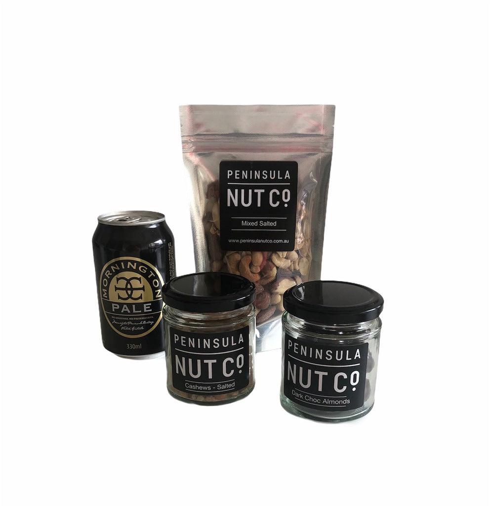 Nuts and Ale Gift Box (alcoholic)