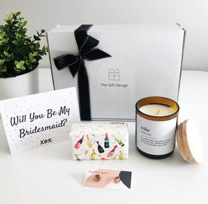 The Bride Tribe Bridesmaid Proposal Box