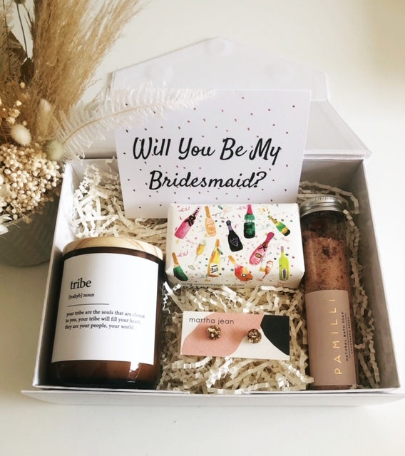 The Bridesmaid Proposal Gift Box - Free Postage