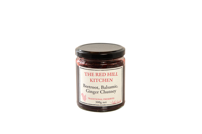 The Red Hill Kitchen Beetroot and Balsamic Ginger Chutney 300g