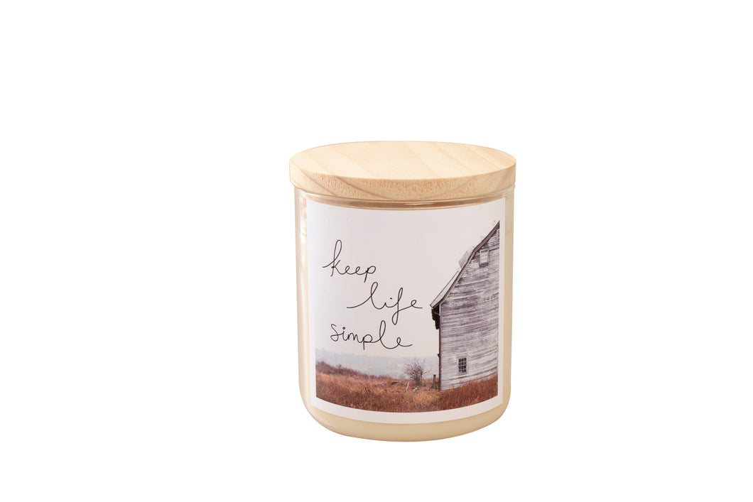 Keep Life Simple Soy Candle 600g