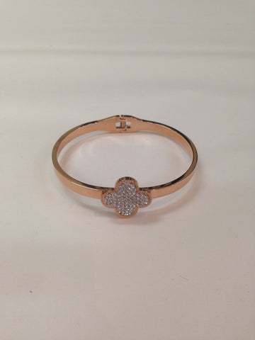 Rose Gold Sparkle Bangle