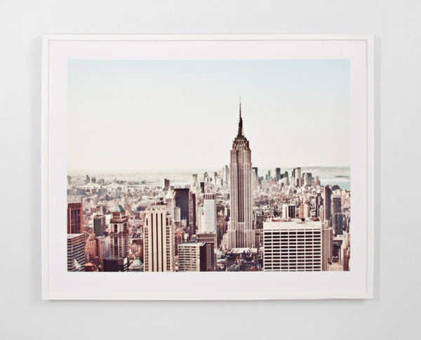 New York Morning Print