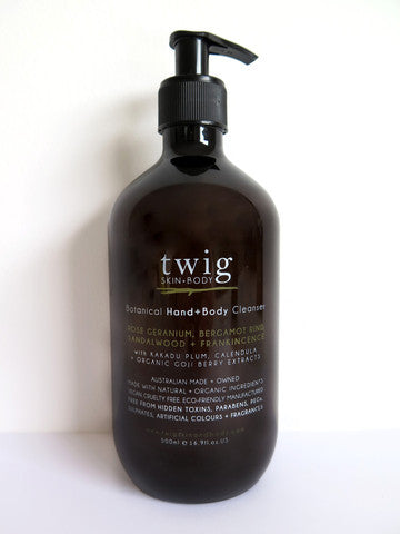 twig skin+body cleanser