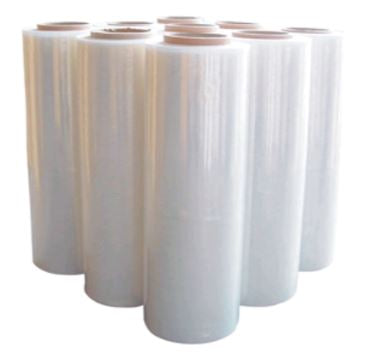 Clear Hand Stretch Film Pallet Shrink Wrap [500mm x 400m]