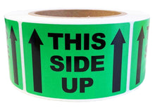 This Side Up Printed Label 50.8x76.2mm Handle With Care Adhesive Sticker 550 Labels/Roll