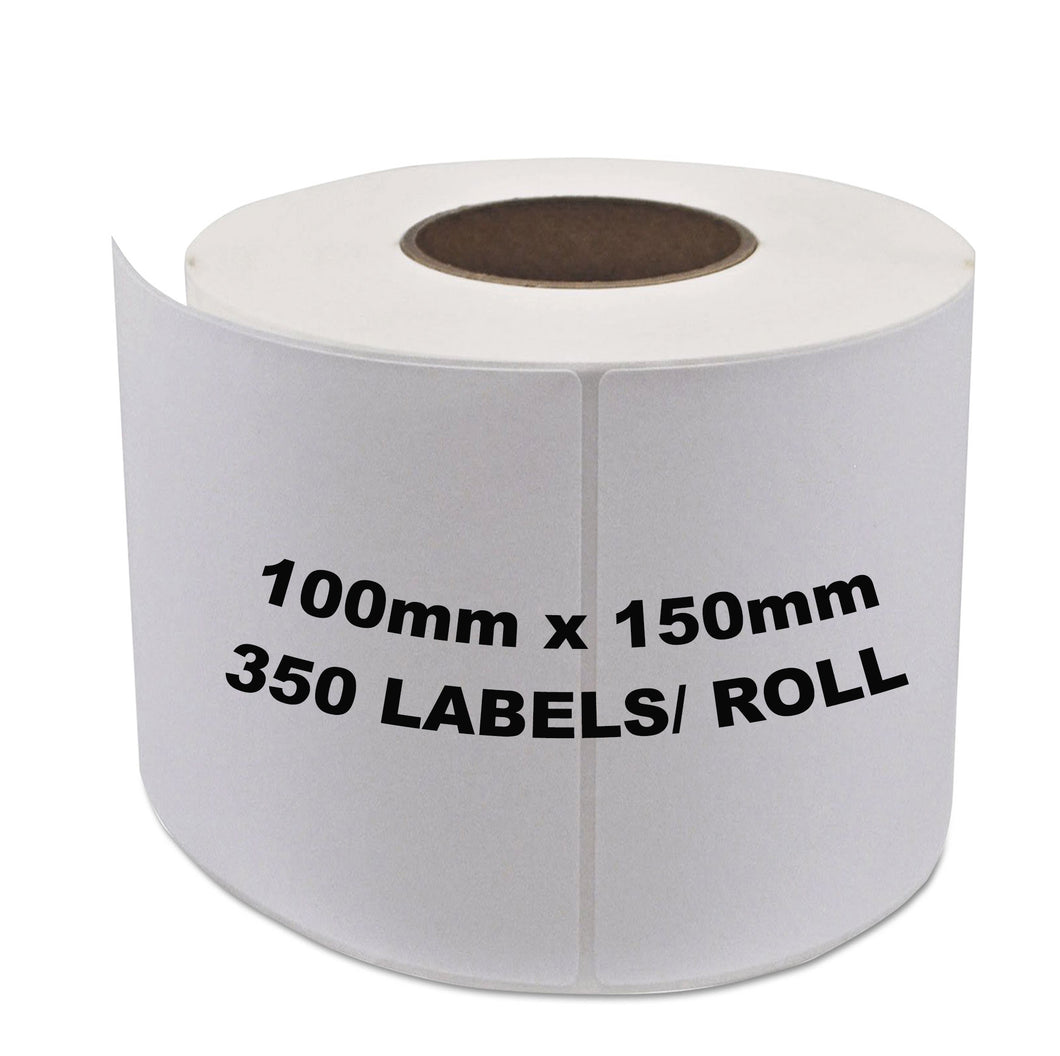 Aramex Shipping Labels 100x150mm 350 Labels/Roll [For Zebra Direct thermal Printers]