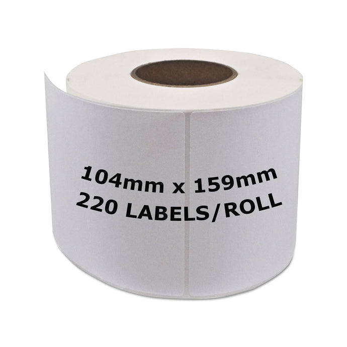 DYMO Compatible Labels 104mm x 159mm 220 Labels/Roll [S0904980]