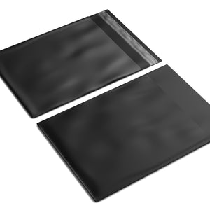 Black Courier Bags 350mm x 480mm [Poly Mailers] [Mailing Satchels]