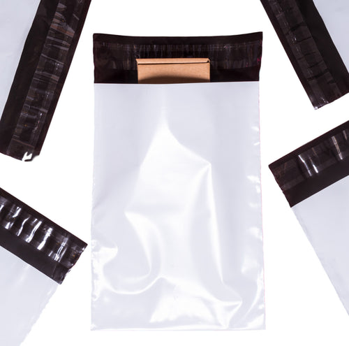 SAMPLES of All 7 Courier Bag Sizes [Poly Mailers] [Mailing Satchels]