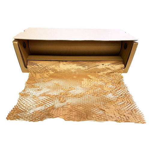 HoneyComb Kraft Paper Wrap 500mm x 180m Protective Packaging [Bubble Wrap Alternative]