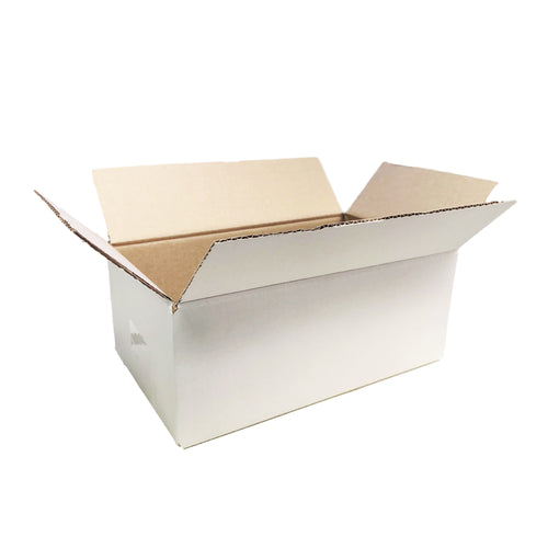 Regular Slotted Cardboard Box 320 x 240 x 160mm Fits into Australia Post 5KG Satchel Extra Large [RSC Shipping Carton] [Mailing Boxes]