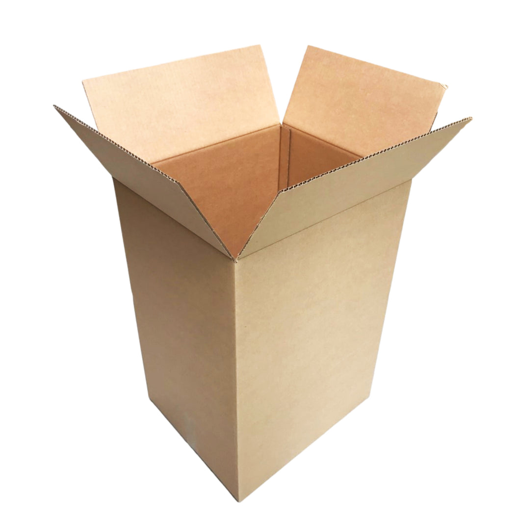 Regular Slotted Cardboard Box 430 x 370 x 640mm 100 Litre Capacity [RSC Shipping Carton] [Tea Chest Moving Boxes]