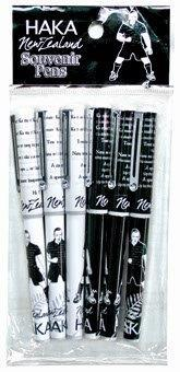 PK-40074 - 6 Pack Haka Pens Assorted - New Zealand Gifts & Souvenirs